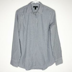 J Crew Blouse Favorite Button Down Shirt Striped